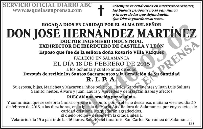 José Hernández Martínez